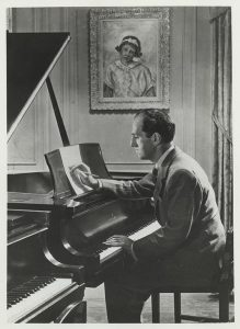 George Gershwin, ca. 1935 Courtesy Library of Congress & University of Michigan Gershwin Initiative (This is the piano that has been donated to U-M)