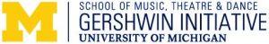 UM Gershwin Logo